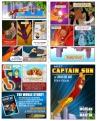 Captain Sun Mini Book