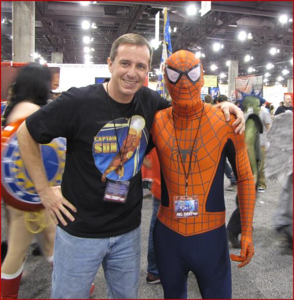 Friday at the Phoenix Comic Con (with the Wall Crawler!)