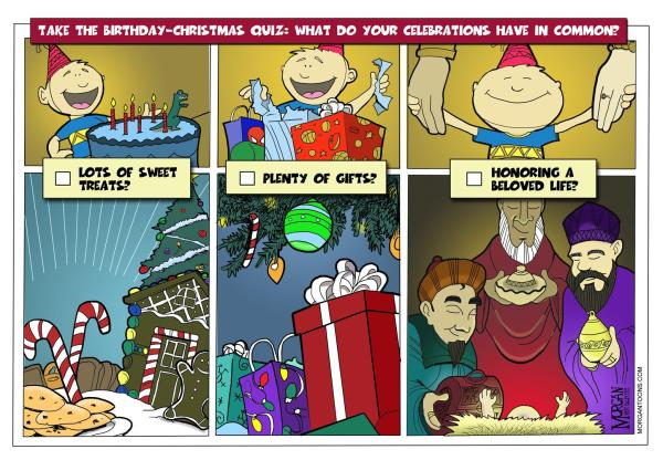 New Christmas Cartoon!