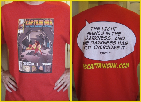 Another Comicon, Another Captain Sun T-Shirt