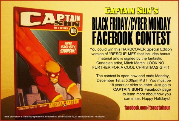 Captain Sun Facebook Contest POSTER