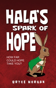 Hala's Spark of Hope FRONT COVER