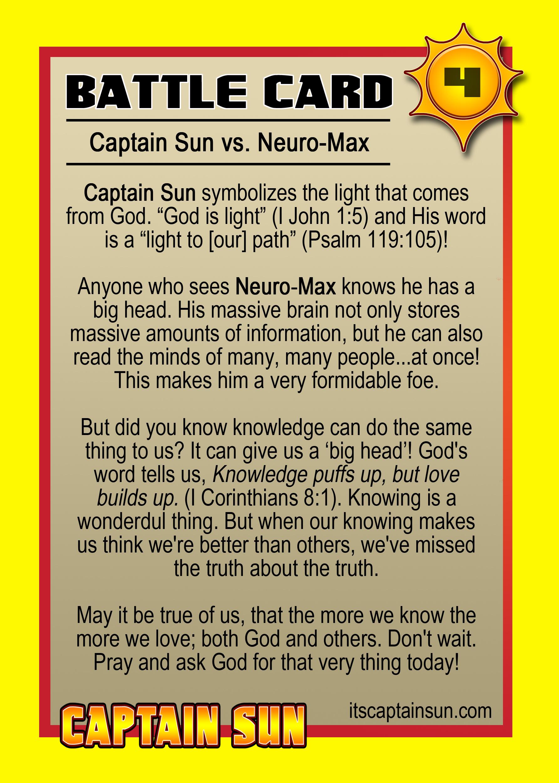 Card 4 Cs Vs Neuro Max Back Copy The Captain Sun Adventures