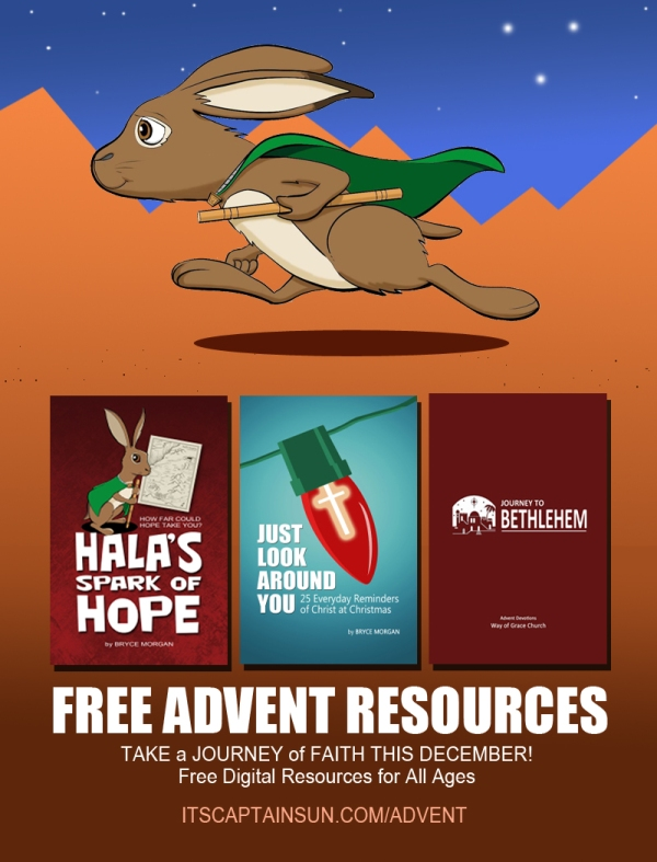 Advent Resources poster (with Hala) copy