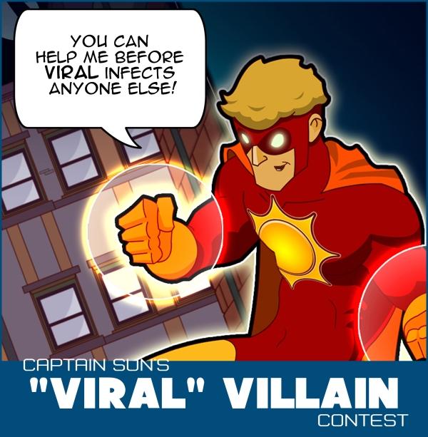 viral villains banner copy