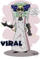 VIRAL is a real mad scientist who's always coming up with some new stuff from his laboratory. His soul has vanished but his smoking virus is not ready to do so. The gloves have a little but potent gas pistol canon and it activates every time he throws some punches. His invention is spreading everywhere, the people from Capital City are going weak and coughing right and left. What other weapons has Viral under the lab? Will Captain Sun be able to evade this poison? How is he going to heal all the infected innocents? See it in the next chapter!!